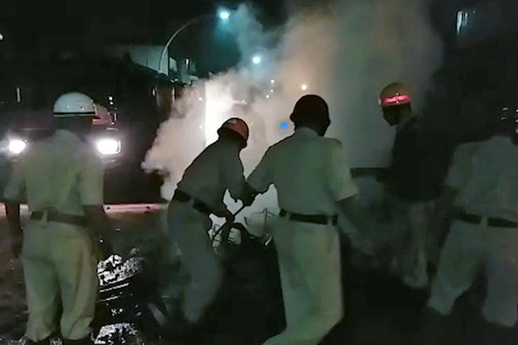 Communal clashes break out in Belagavi again police on high alert