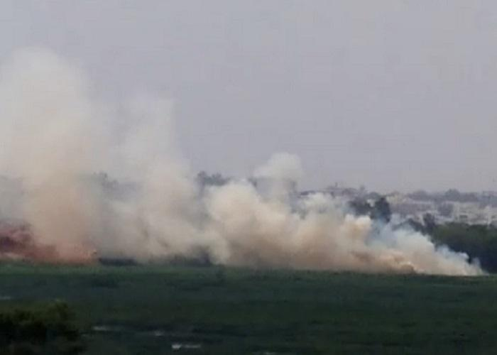 Bellandur Lake catches fire again residents claim it happens everyday now