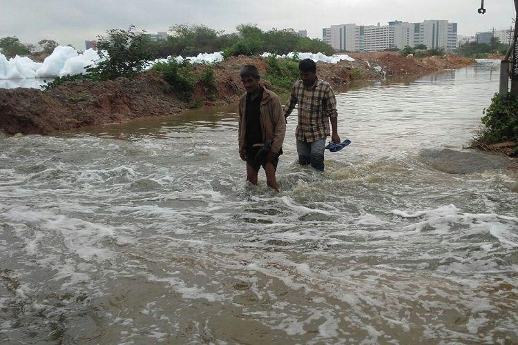 NGT strikes shuts down industries near Bellandur Lake in Bengaluru