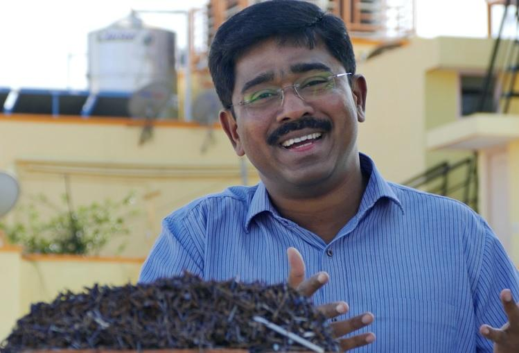 How one man collected 70kg nails from roads to save your tyres from the puncture mafia