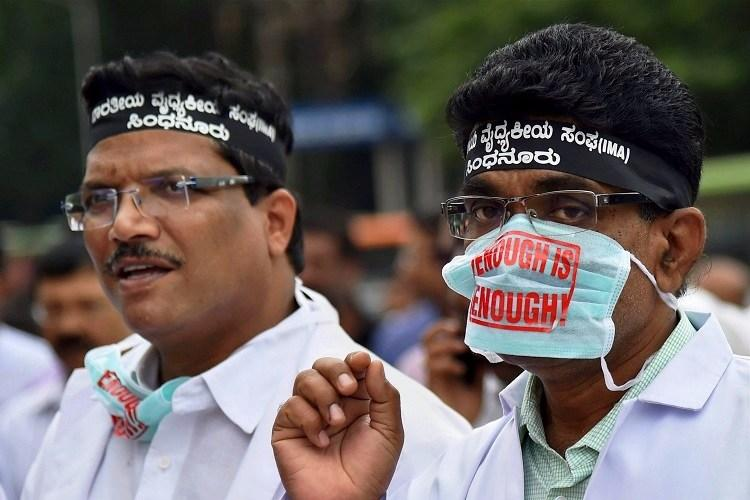 Karnataka doctors strike Private hospitals across state to reopen OPDs on Friday