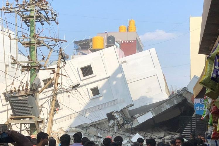 Bengaluru building collapse Death toll rises to five with two more confirmed dead