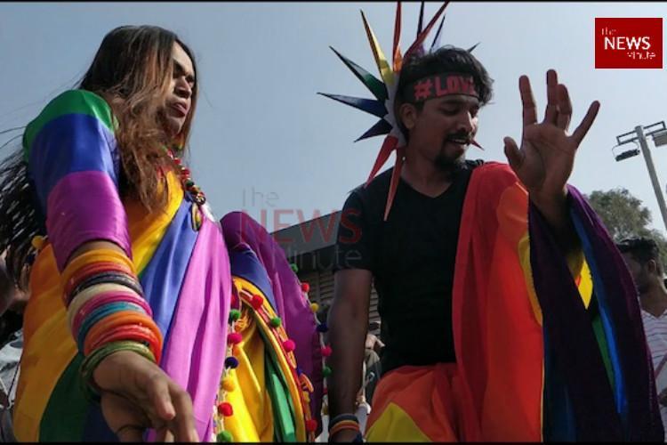 In pictures Dance colours and celebration bring alive Bengalurus 11th Namma Pride