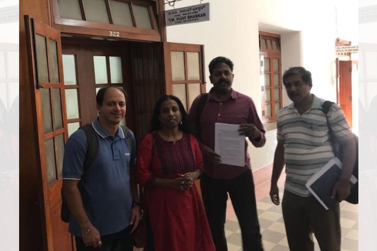 Bluru suburban rail Ktaka Chief Secy accepts specific demands post Rail Yatra drive