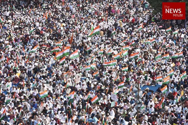 A call for civil disobedience Massive protest in Bengaluru demanding rollback of CAA NRC