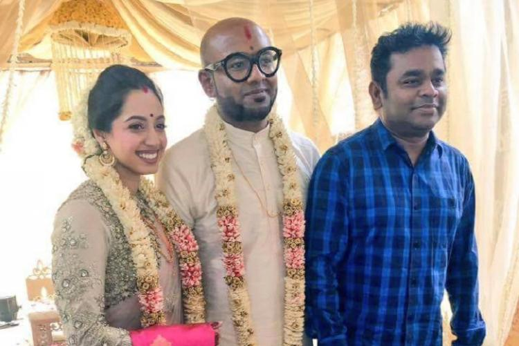 Playback singer Benny Dayal ties the knot with long-time girlfriend