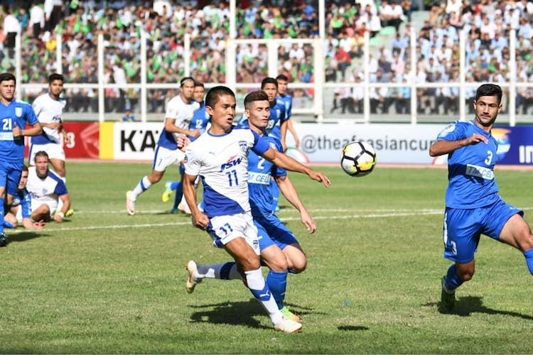 Bengaluru FC lose to Altyn Asyr in Ashgabat bow out of AFC Cup