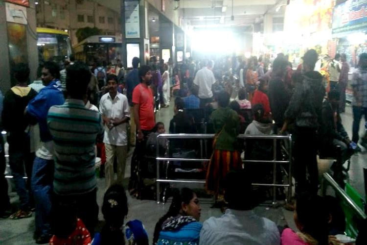 AP Telangana passengers forced to pay more as bus fare shoots up in Sankranthi rush