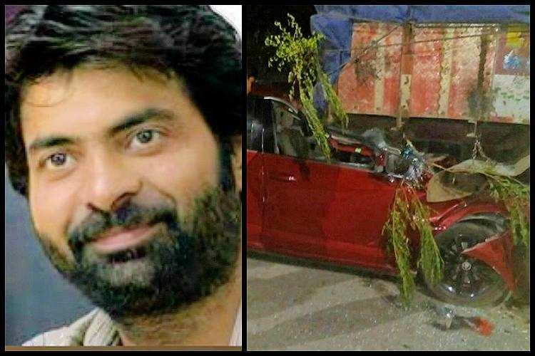 Popular Telegu actor Ravi Teja's brother died in a road accident