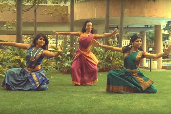 Bharatnatyam goes viral Bengaluru trios traditional spin on 50 shades of Grey tune