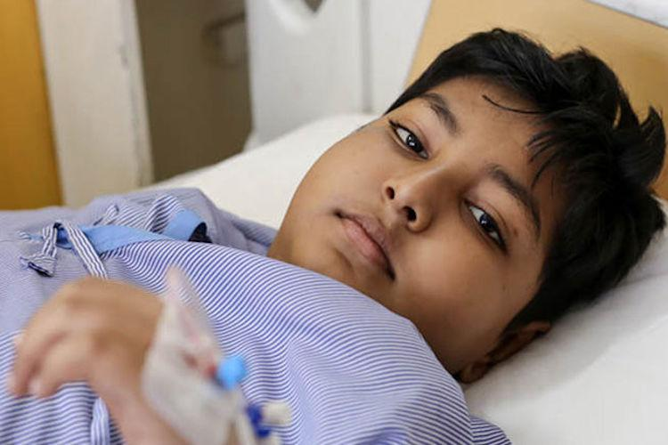 Cancer has consumed this little boy and your help can save him