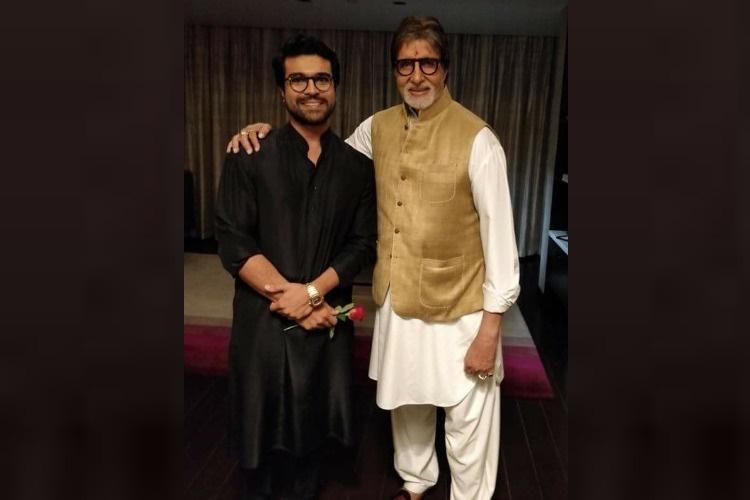 Amitabh Bachchan wishes Ram Charan on his birthday in Telugu