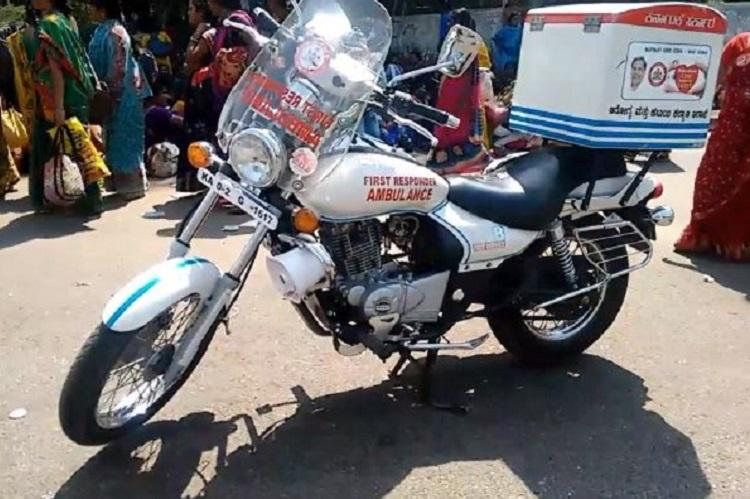 In Bengalurus clogged roads 100 bike ambulances to attend to emergencies