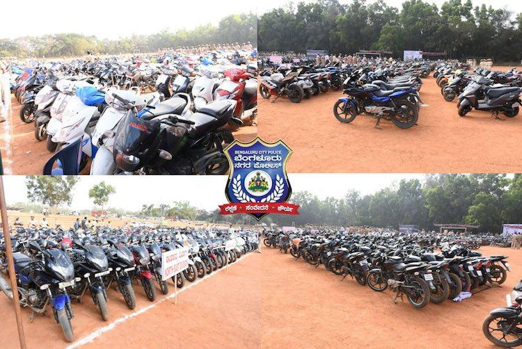 HURRY Your lost bike might be at this Bengaluru police parade