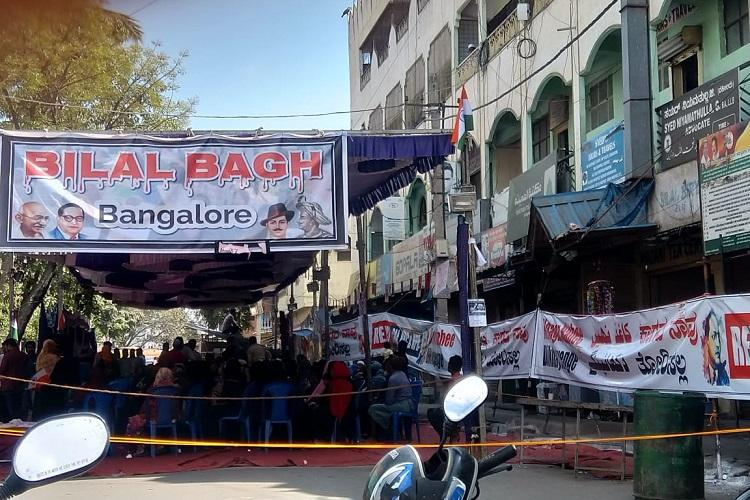 Despite police pressure women at Bengalurus Bilal Bagh continue protest against CAA