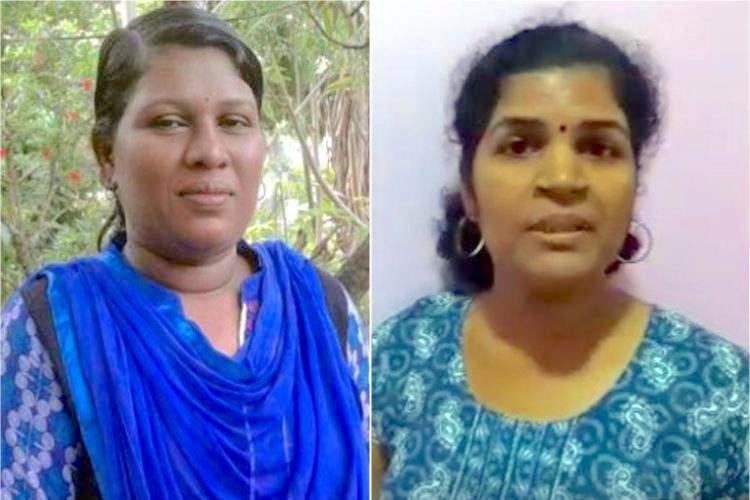 A lawyer and a govt employee Meet Bindu and Kanakadurga who entered Sabarimala
