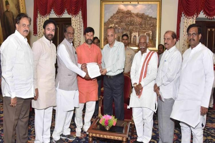 BJP alleges Andhra CMO involved in TTD black ticket scam approaches Guv