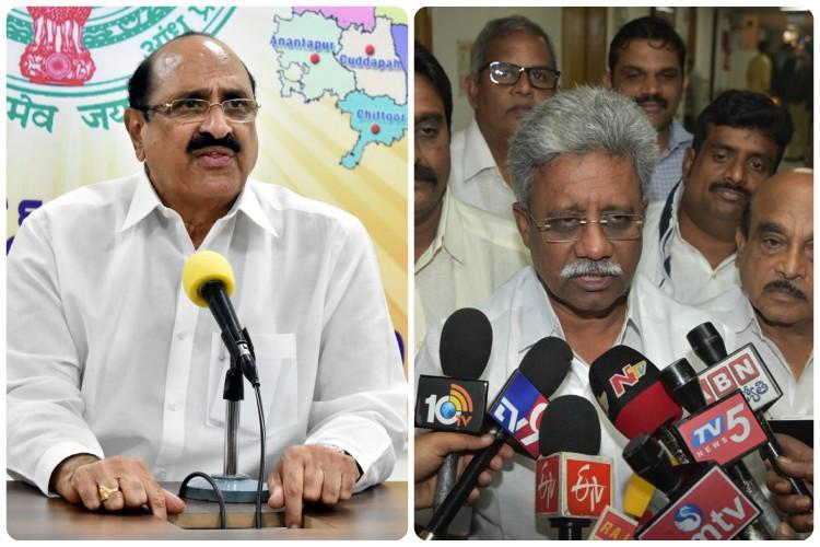 BJP ministers resign from Andhra cabinet ahead of budget session