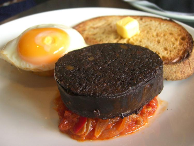 Is black pudding really a superfood Err no