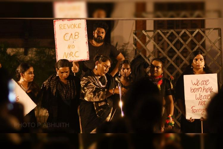 Play by trans people in Kerala uses black theme to protest CAA NRC