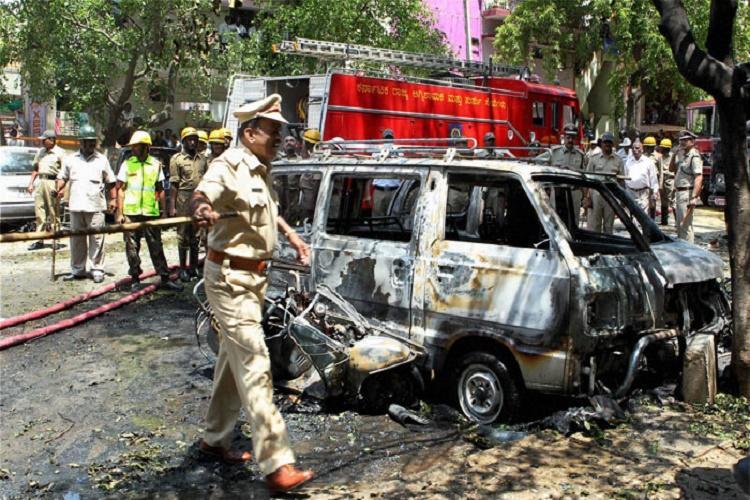 Former member of AIADMK and Al-Ummah nabbed in Bengalurus Malleshwaram blast case