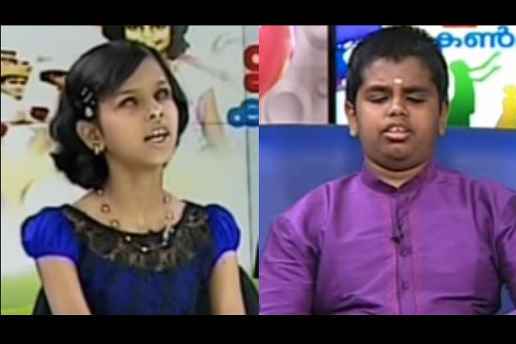 When kids with visual impairment became news anchors for a day