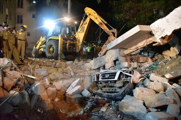 Bengaluru building collapse Death toll rises to 6 search operations called off