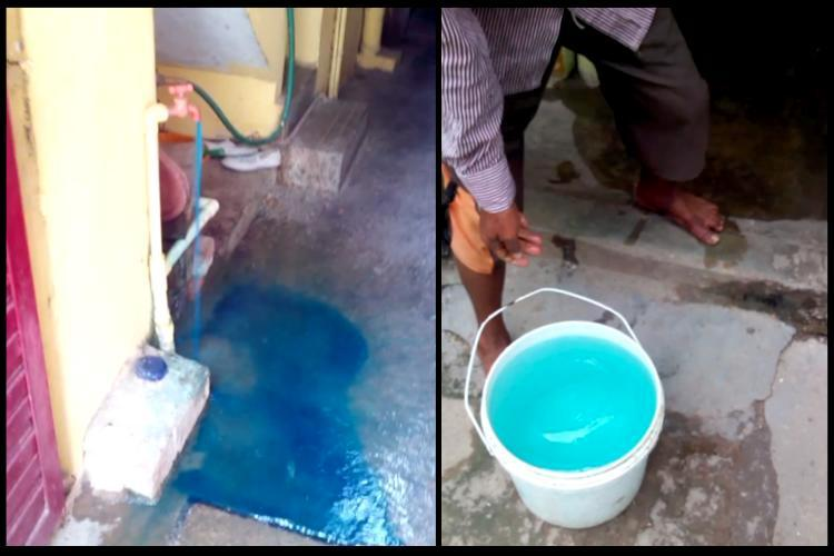 Water is blue for these Bengaluru residents Illegal dyeing units not shut for 311 days