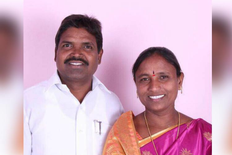 TRS MLA her husband attack Renigunta toll booth employee who made them wait