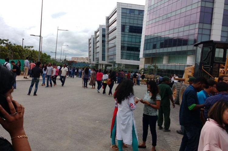 Bengalurus Embassy Tech Village receives bomb threat employees evacuated