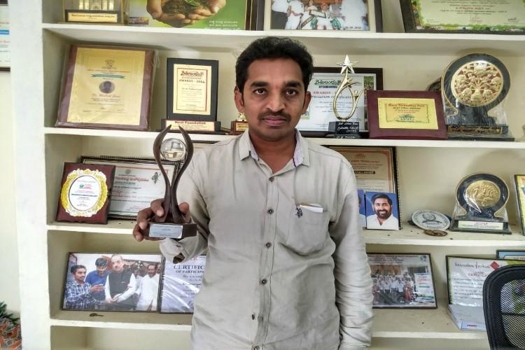 This 33-year-old Telangana rural scientist is helping farmers with his innovations