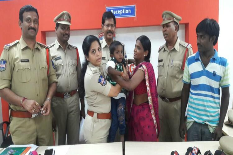 Hyderabad boy rescued in Andhra two weeks after kidnap cops nab kidnapper