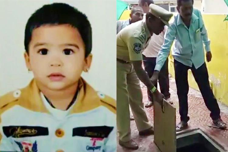 Killed by negligence 3-yr-old drowns to death in open sump at Hyderabad playschool