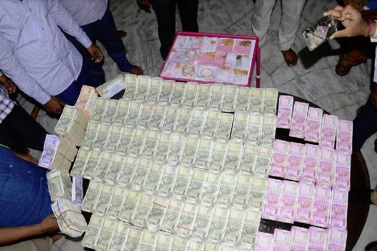 Telangana ACB nab village officials recover gold and cash from residence