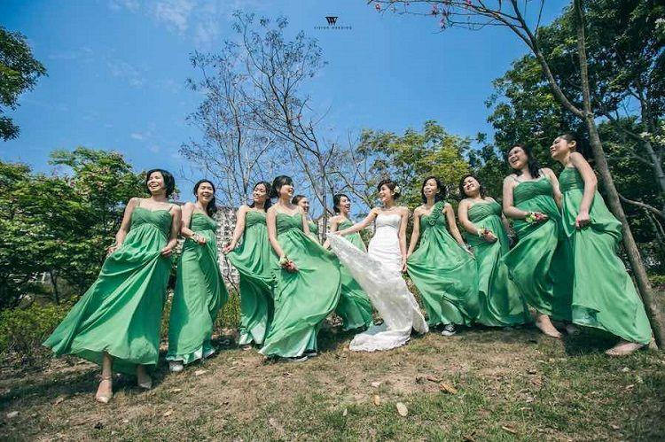 The dangers of being a bridesmaid in China mean some brides now hire professionals