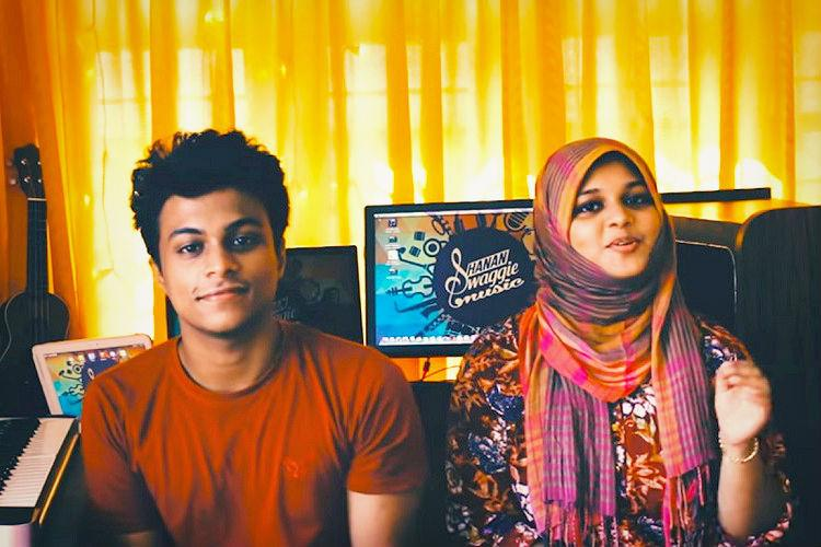 Watch Brother-sister duos Malayalam mashup of Cold Water with Nenjodu Cherthu is a hit