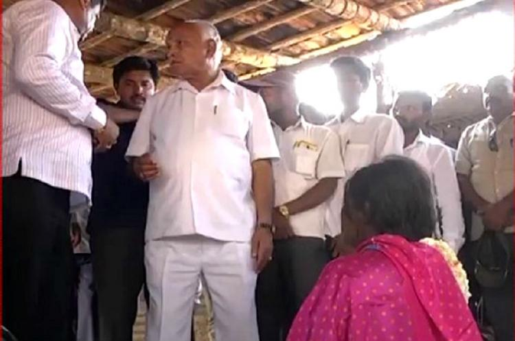 BSY in the dock for giving Rs 1 lakh to dead farmers wife in Gundlupet ahead of polls