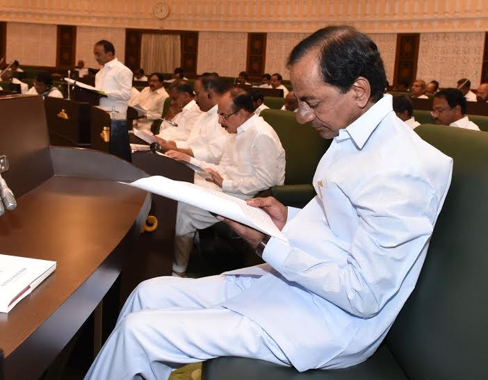 Are Telanganas coffers too empty to even support KCRs flagship projects