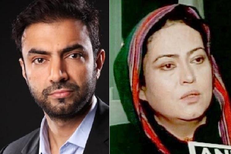 Naila Quadri in India Individuals do not represent Baloch struggle says Brahumdagh Bugti