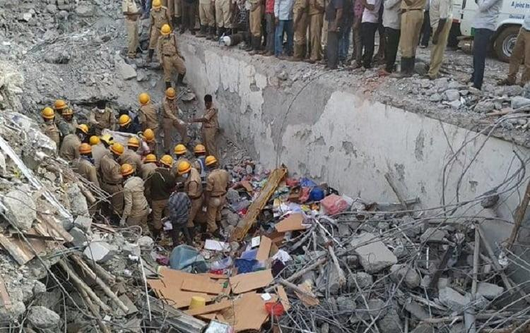 Death toll in Dharwad building collapse rises to 14 Cops arrest owners architect