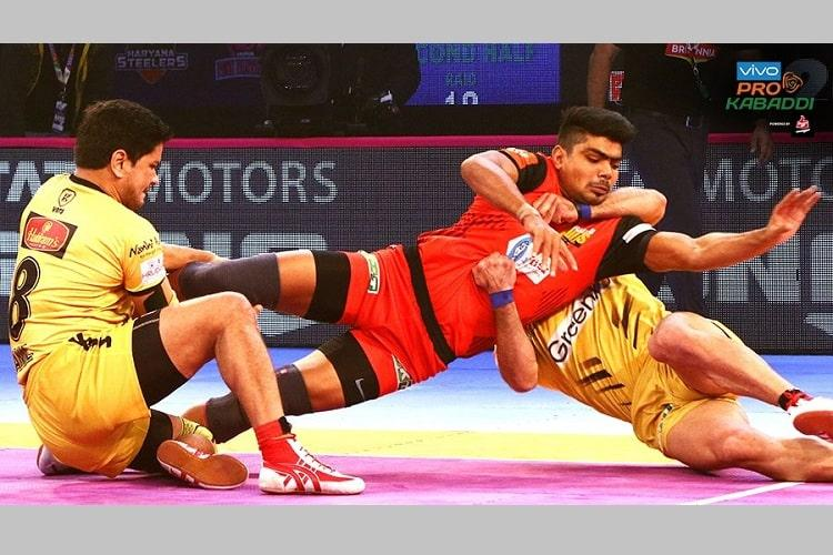 PKL Bengaluru Bulls beat Telugu Titans enter play-offs