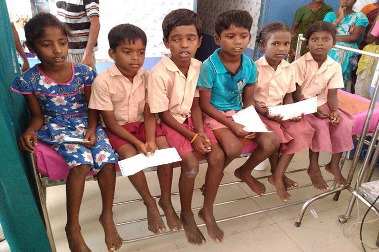 TN Shocker Woman teacher lights camphor over foot of children as punishment