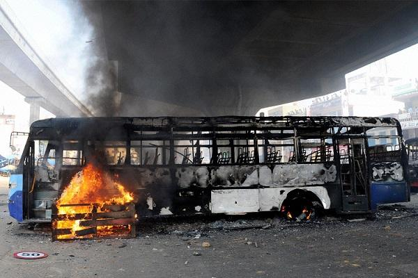 Bengaluru especially its bus transport incurred crores of losses due to protests against PF norms