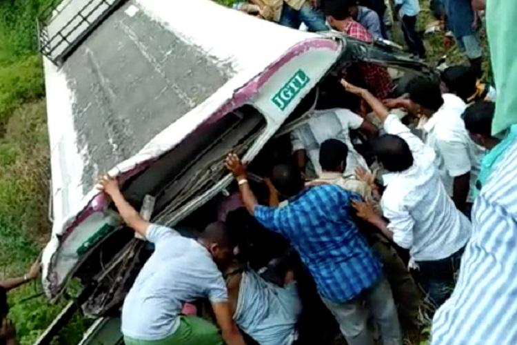 Telangana Transport Min should quit Anger grows over accident that claimed 52 lives