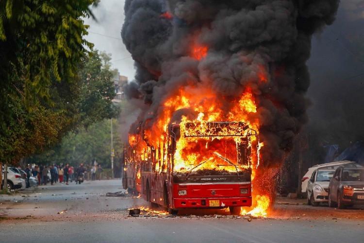 Anti-CAA stir Massive protests in Delhi AMU Bengal boils uneasy calm in Assam
