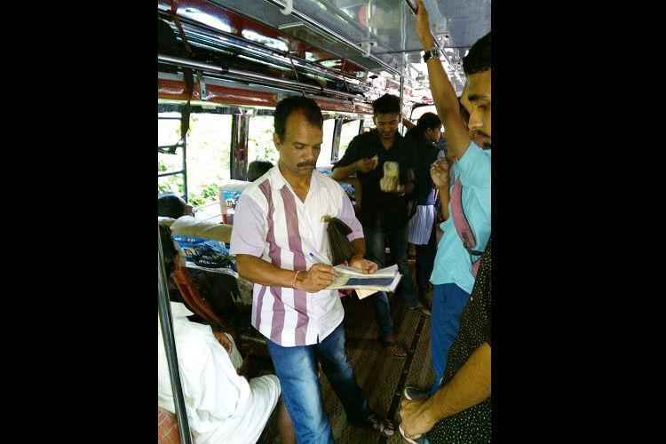 Kozhikode bus operators turn Good Samaritan donate their days collection to save a life