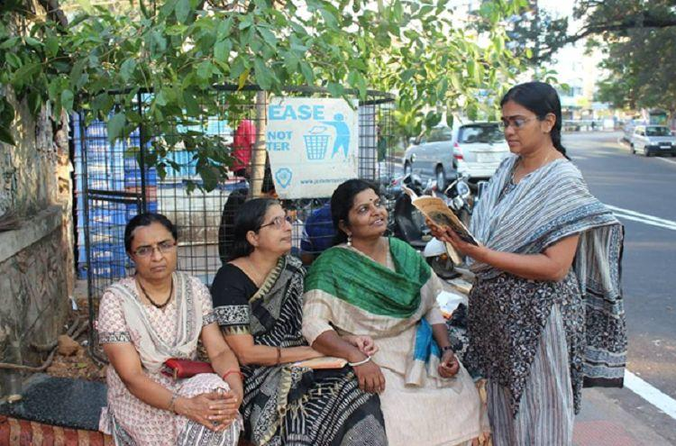 Sisterhood of the Caper tree This tree in Tpuram has become a space for women to loiter