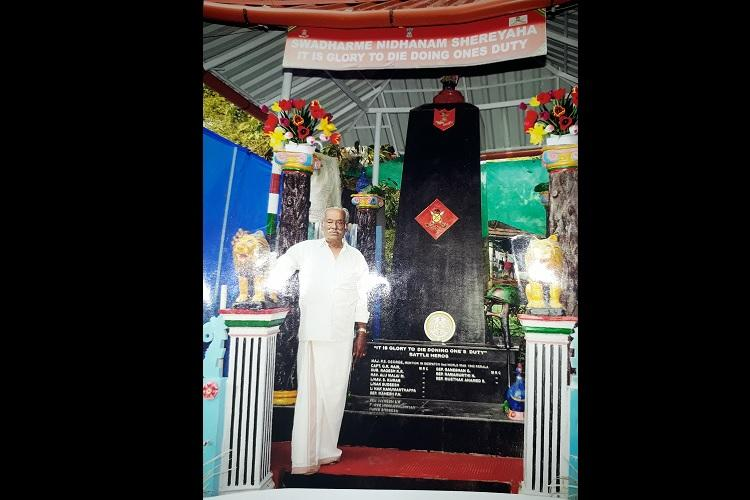 State govt apathy makes Maha Vir Chakra awardee spend own money for Army memorial in Kerala