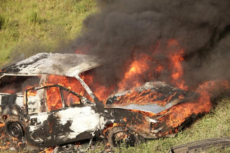 Bengaluru residents set car ablaze after African students allegedly run over a woman