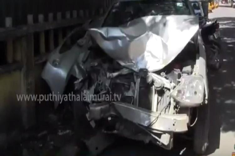 Drunk taxi driver kills woman injures seven people in Chennai